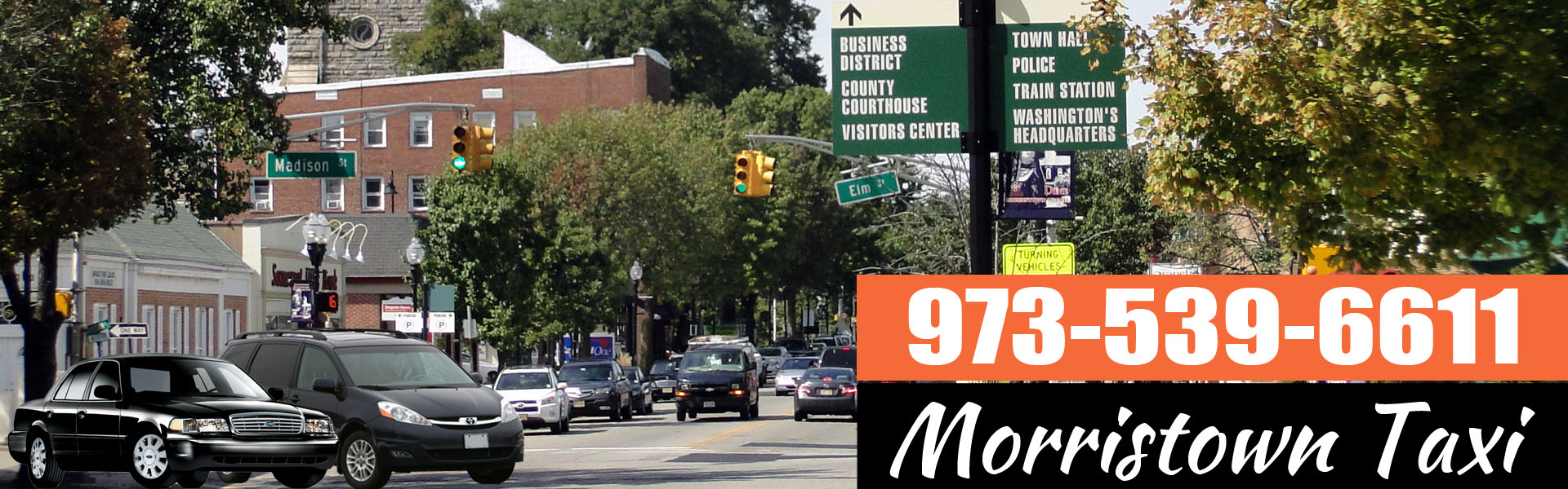 Morristown Taxi Service NJ
